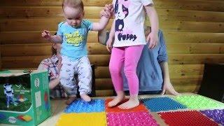 Детские ортопедические развивающие КОВРИКИ. Обзор. Отзыв.