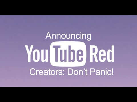 youtube red announced don