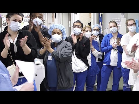 Front line nurses in COVID-19 pandemic find solace in 'Hope Huddles'