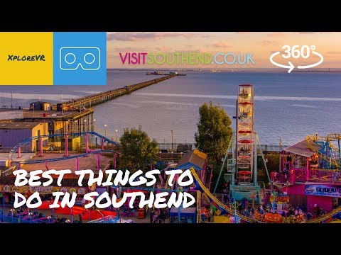 Best Things To Do In Southend | 360 Video