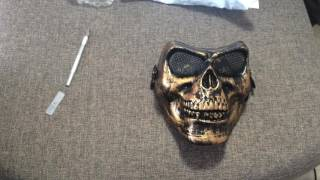 Распаковка посылок с алиэкспресс: маска для пейнтбола и проточный водонагреватель для кухни