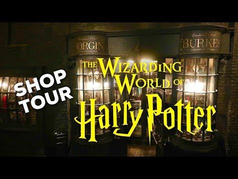 HARRY POTTER SHOP TOUR: Borgin & Burkes   WIZARDING WORLD UNIVERSAL ORLANDO