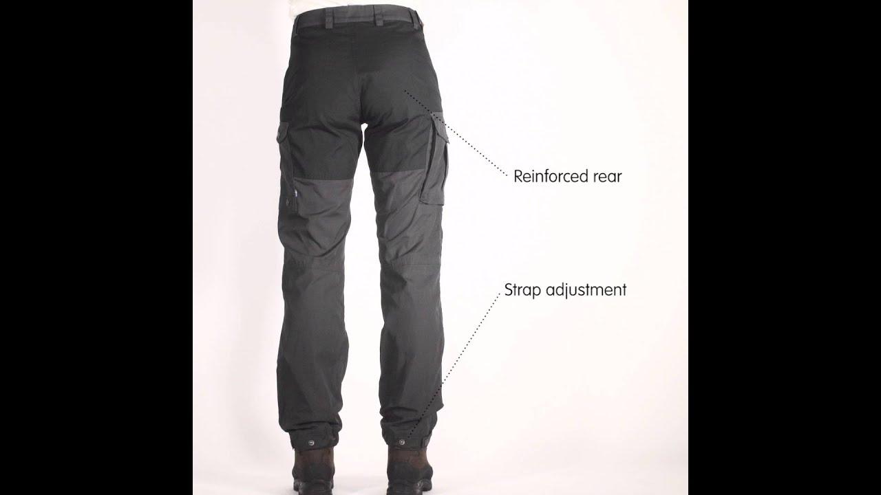 b52221c0 Køb Fjällräven bukser til damer og herrer | Spejder Sport
