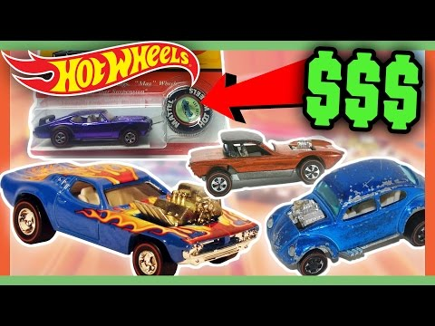 HOT WHEELS WORTH MONEY - CHILDHOOD TOYS WORTH A FORTUNE!!