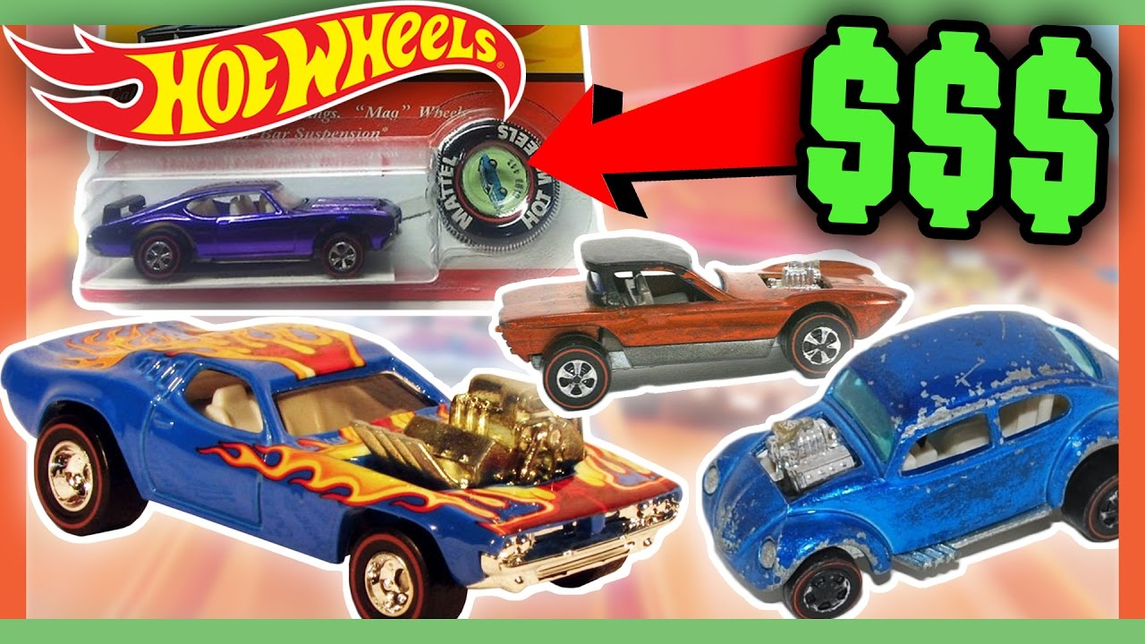 5d0d703f195f HOT WHEELS WORTH MONEY - CHILDHOOD TOYS WORTH A FORTUNE!!