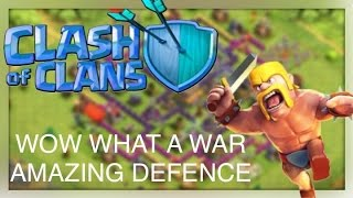 CLASH OF CLANS {CLOSEST WAR IN RISING WHAT HAPPENED?}