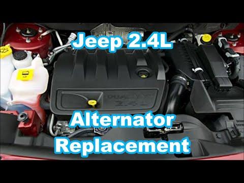 Dodge    Caliber Serpentine Belt Replacement and    Diagram    2