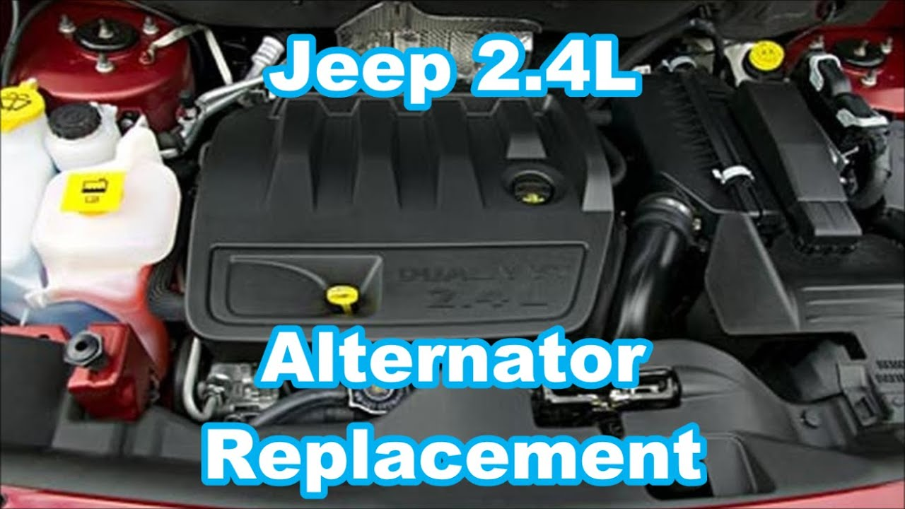 hight resolution of 2008 jeep patriot alternator replacement 2 4l how to replace quick run down overview