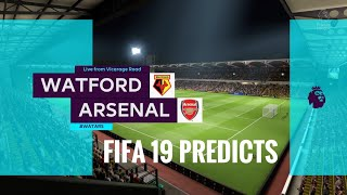 Watford vs Arsenal premier league prediction matchweek 34