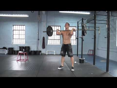 """CrossFit - WOD 120128 Demo with Keith Nelson, """"Desforges"""""""