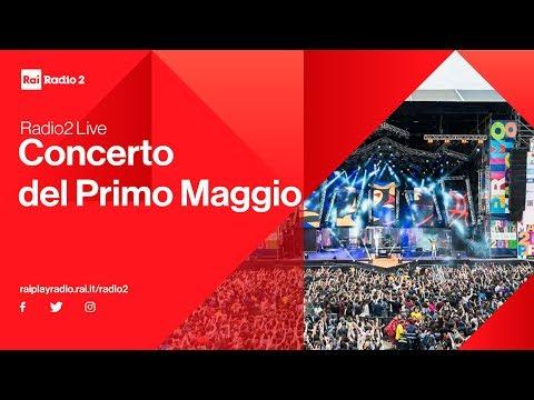 In diretta dal backstage del Concerto del 1° maggio con Radio2