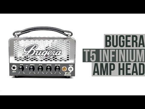 Bugera T5 INFINIUM - 5 Watt Cage Style Tube Amplifier Head