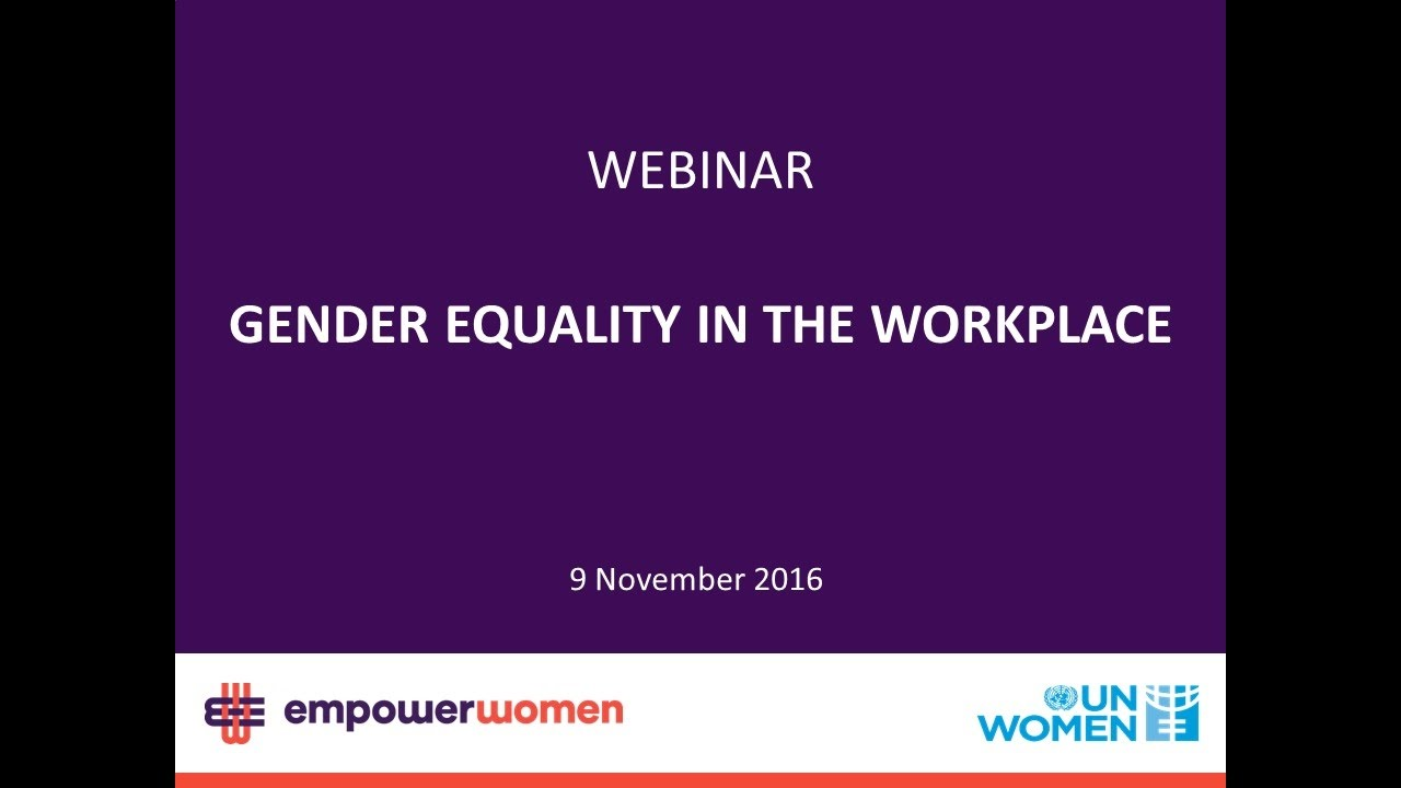 1dc9277e6 Empower Women - Gender Equality in the Workplace