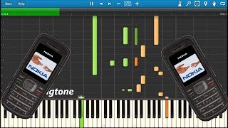 The sequel of nokia 3310 ringtones in synthesia - 1208 synthesia! also check out next remix teaser at end video!
