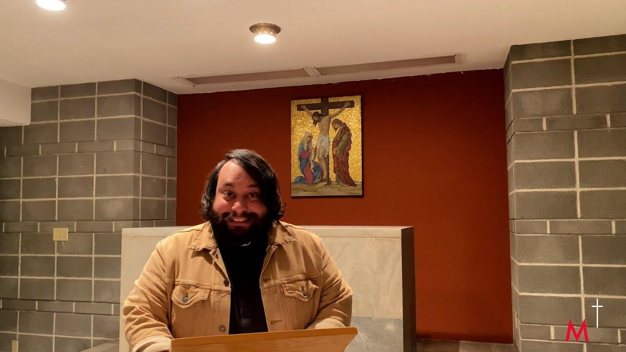 Carême 2021 - 2e dimanche avec l'abbé Emanuel Zetino