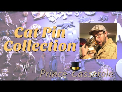 Cat Pin Collection | Brooch Collection (2018)