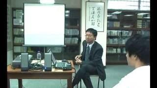 Reading Workshop 1 - Speaker: Dr. Anson Yang  28 October 2009