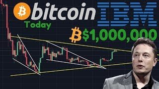 BTC Horizontal Or Ascending Triangle? | Price Prediction By IBM: Bitcoin To A Million Dollars!!