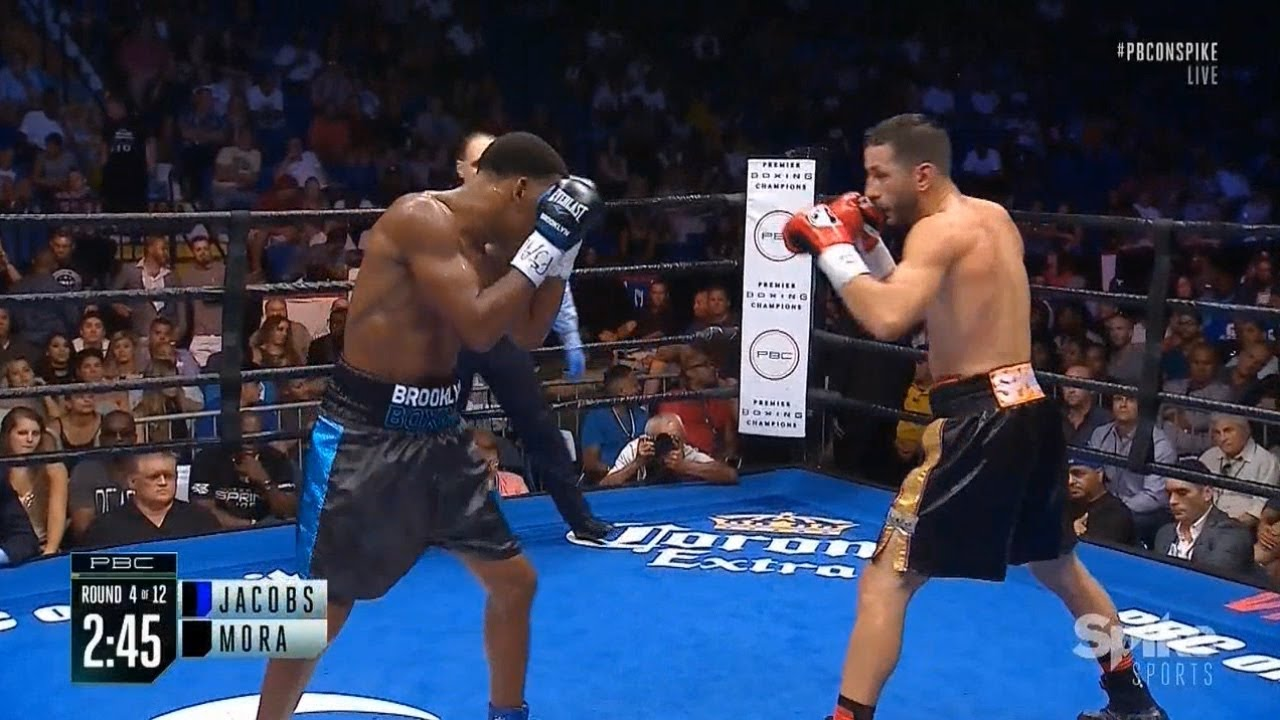 Download The best moments Daniel Jacobs vs. Sergio Mora II / Дэниел Джейкобс vs. Серхио Мора II лучшее из боя
