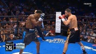 The best moments Daniel Jacobs vs. Sergio Mora II / Дэниел Джейкобс vs. Серхио Мора II лучшее из боя