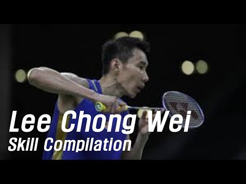 What makes Lee Chong Wei Legend -- Skill Compilation