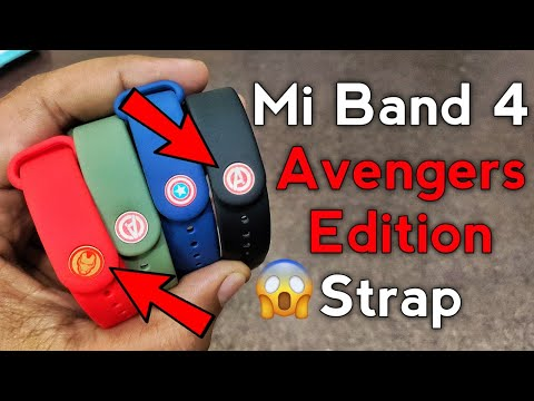 Mi Band 4 Avengers Edition Unboxing | Convert Any Mi Band 4 to Avengers Edition Mi Band 4 | Mi Band4