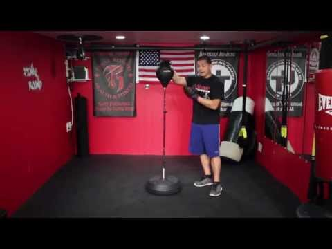 MaxxMMA Adjustable Freestanding Reflex Bag