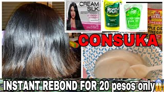 Conditioner+Vinigar |Paano maging healthy smooth and shiny ang buhok gamit ang consuka|Hair remedy-