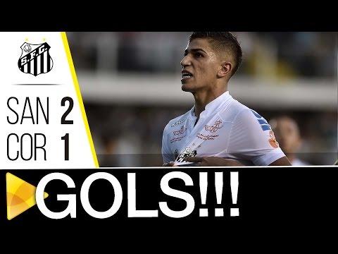 Santos 2 x 1 Corinthians | GOLS | Brasileirão (11/09/16)