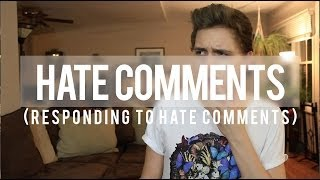 RESPONDING TO HATE COMMENTS Thumbnail