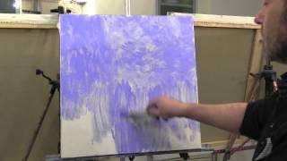 "Школа импрессионизма художника Сахарова, новый видеоурок "" Пруд с кувшинками Моне"""
