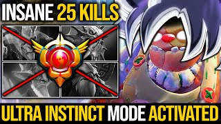 25 Kills!!! When Pudge Activates Ultra Instinct Mode - No Mercy Destroy Whole Enemy | Pudge Official