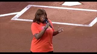 Kechi Okwuchi: Houston Astros National Anthem