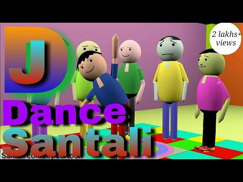 Santali Dj Cartoon Dance |  Ulat Kachar Santali Dj Dance ||a Marang Buru Dj Dance |