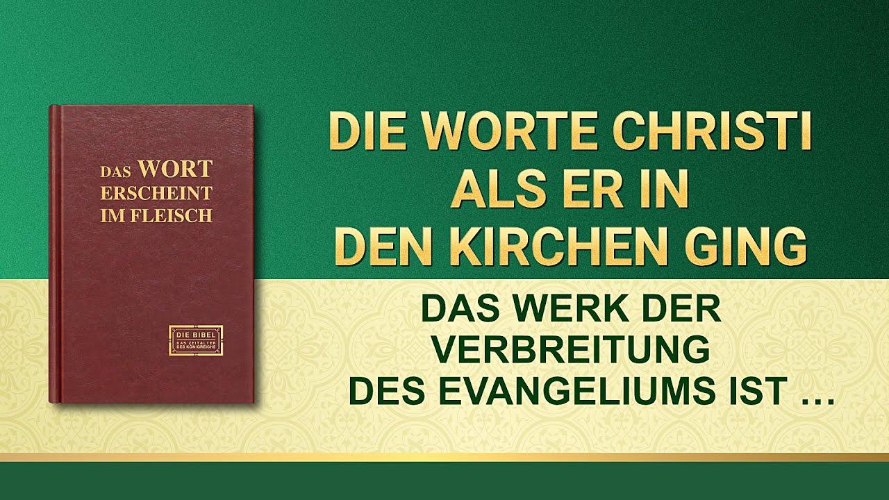 Das Werk der Verbreitung des Evangeliums ist auch das Werk der Rettung des Menschen