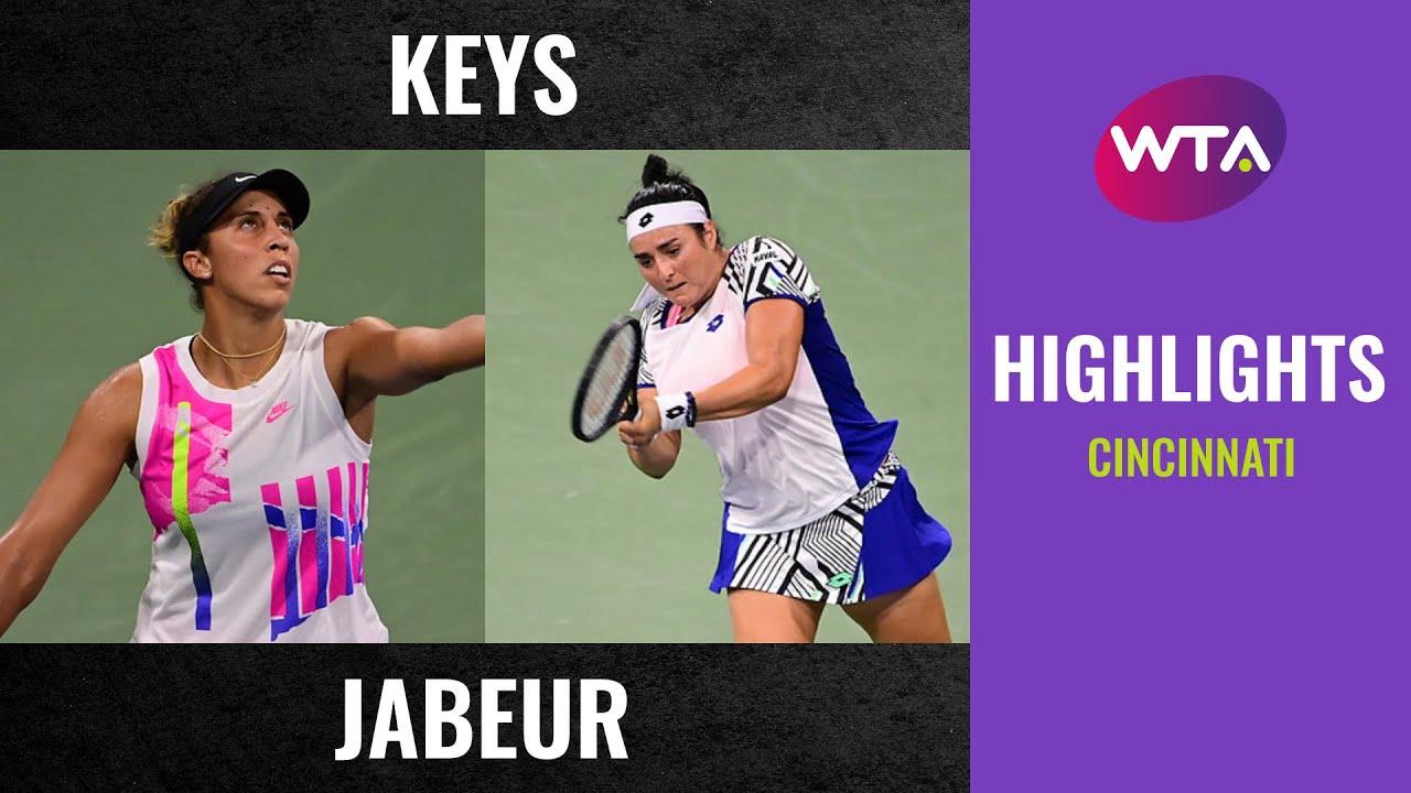Madison Keys vs. Ons Jabeur | 2020 Cincinnati Second Round | WTA Highlights