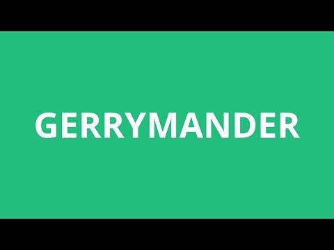 How To Pronounce Gerrymander - Pronunciation Academy