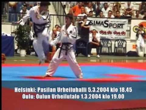 Korean Demoteam by ITF FINLAND 2004 organizator Mr...