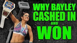 Real Reason Why Bayley Cashed In WWE Money In The Bank and WON SD Women's Title (+ NEW WWE Title)!