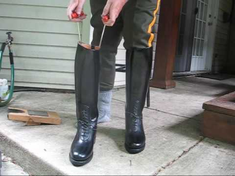 Dress Instep And Bal Laced Dehner Patrol Boots Youtube