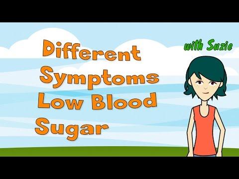 Different Symptoms Low Blood Sugar
