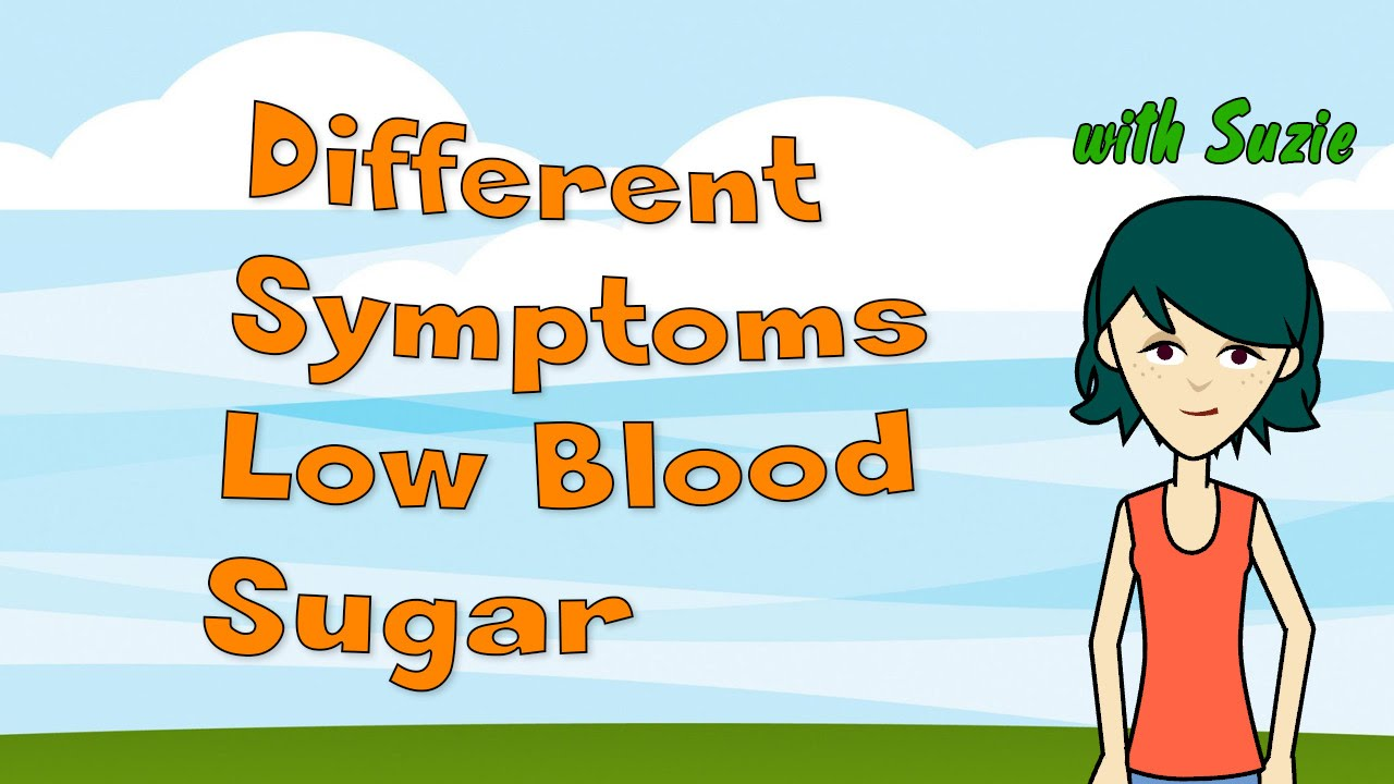 how to know if blood sugar is low