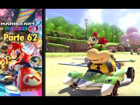 ¡MI CABEZA CONTRA EL MICRO! - Parte 62 Mario Kart 8 Deluxe - Español