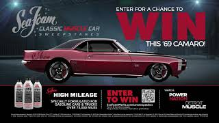 Enter the 2020 Sea Foam Classic Muscle Car Sweepstakes 30-sec