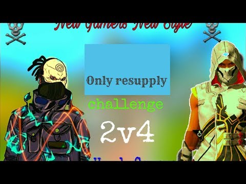 Only resupply challenge in free fire Your Videos on VIRAL CHOP VIDEOS