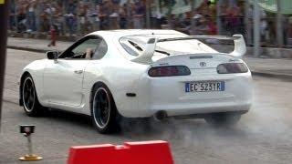 Toyota Supra 2JZ-GTE Accelerations Sound
