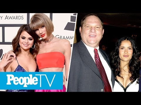 Selena Gomez Celebrates T. Swift's Birthday, Salma Hayek's Harvey Weinstein Allegations | PeopleTV