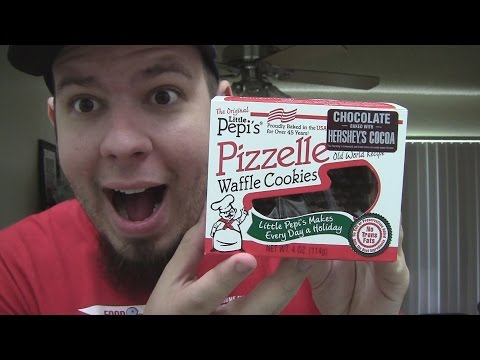 WE Shorts - Little Pepis Pizzelle Waffle Cookies with Hersheys Chocolate