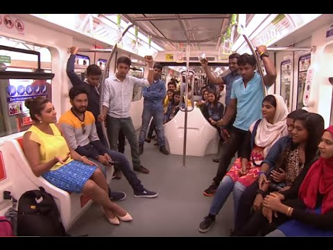 Made for Each Other I Ep 25 - Welcome to Malaysian Monorail I  Mazhavil Manorama