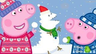 Pipsa Possu ❄️ Lumi ❄️ Kokonaisen jakson kooste | 30 Minuuttia | Piirretyt